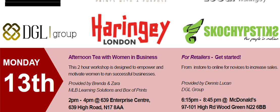 Haringey Council retailers workshop - DGL Group